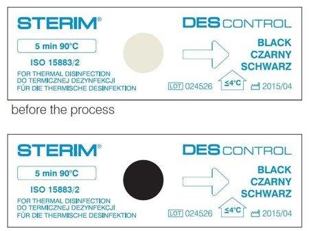 DES CONTROL  kontrola dezynfekcji termicznej