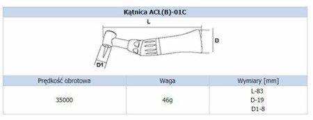 Końcówka stomatologiczna Strong ACL(B)-0