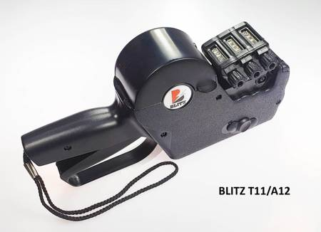 Metkownica alfanumeryczna 3-rzędowa BLITZ T111/A12