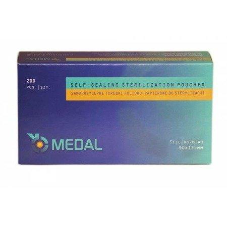 Torebki do sterylizacji MEDAL 90x135 mm